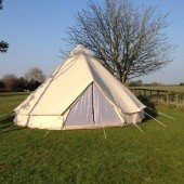 Summerlands 6m Bell Tent Front View