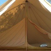 Summerlands 6m Bell Tent Inner Tent View